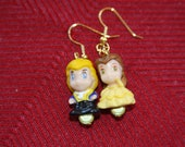 Disney's Beauty and The Best Earrings - Belle & Her Prince
