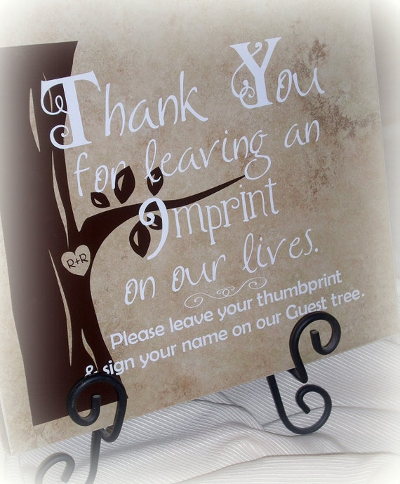 Pictures For Guests Fingerprints And Wishes: Unavailable Listing On Etsy