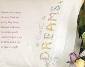 Dimensions Stamped Embroidery Kit - Dreams