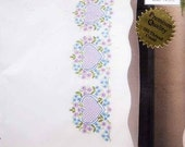 Tobin Stamped Embroidery kit - Trellis Hearts