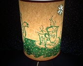 Lampshade with lampstand set -- Tea-lightful (green)