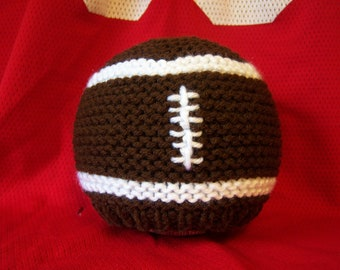 Football Knit Hat