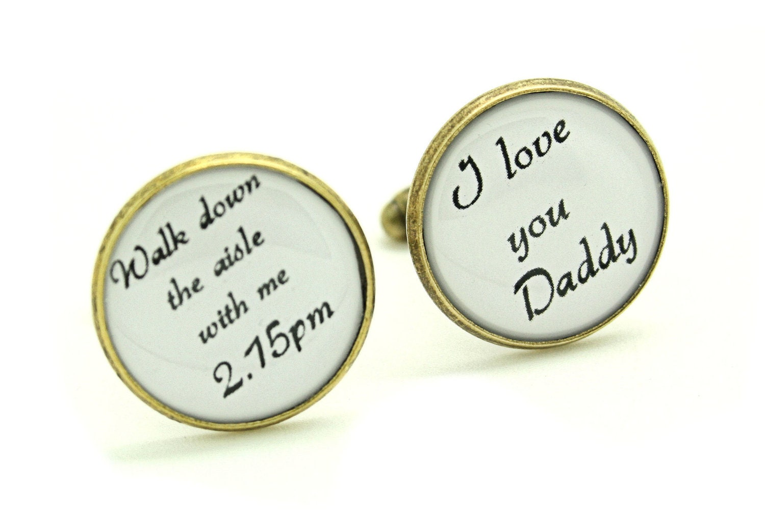 Walk Down The Aisle With Me I Love You Daddy Custom Wedding