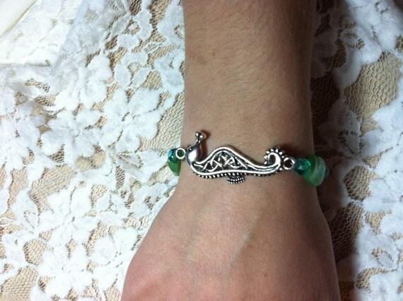 A Mermaid's Companion Beaded Bracelet