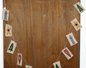 Country String Christmas Garland