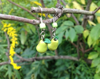 Your Choice Fresh Fruit Dangle Earrings