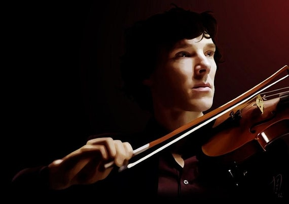 Violinist Art