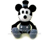 Classic Disney Mickey Mouse Amigurumi Pattern in English (E-book in PDF format)