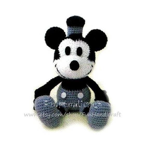 Classic Disney Mickey Mouse Amigurumi Pattern in by ...