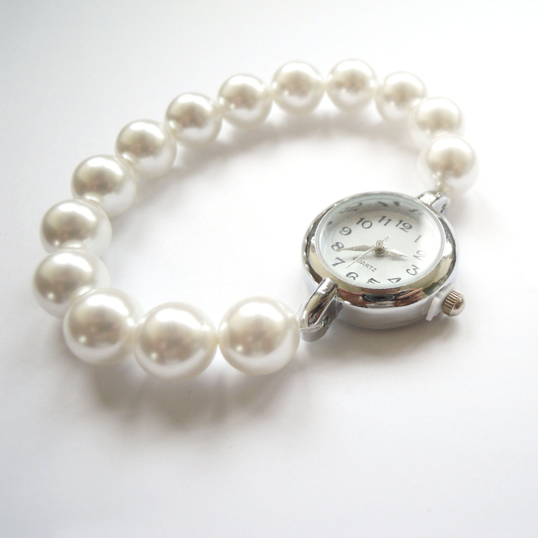 Pearl Bracelet Watch uk Pearl Bracelet Watch Simple