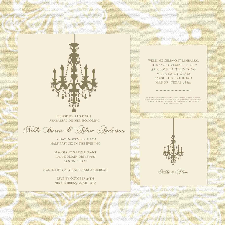 Rehearsal Dinner Wedding Invitation Wording Divorced