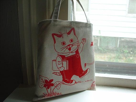 Richard Scarry Tote Bag 1981
