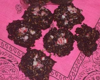 Silo Sweeties Horse Treats,Peppermint Topped Horse Treats,Homemade Horse Treats
