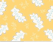 Riley Blake 'Promenade' Yellow Flourish' 1 Yard Destash