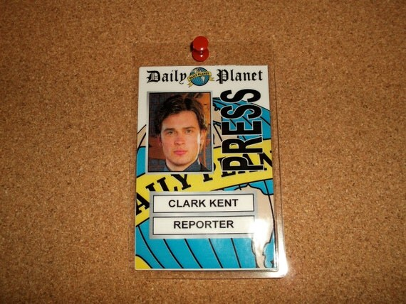 Items similar to Clark Kent - reporter - Daily Planet ...