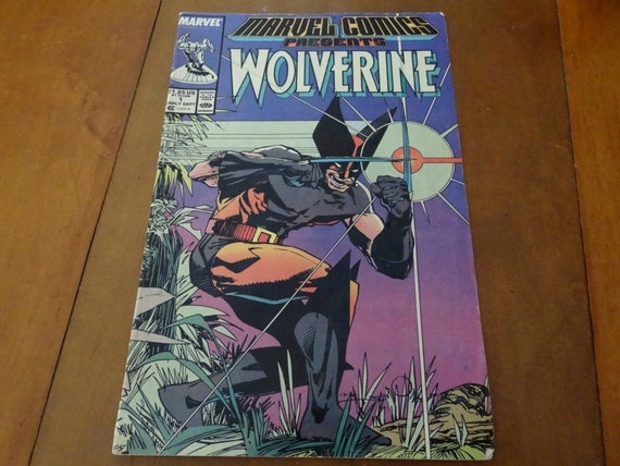 Marvel Comics Presents Wolverine, vol.1, no.1, Early September of 1988