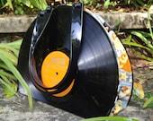 Upcycled Hollywood Movie Stars Vinyl Record Handbag