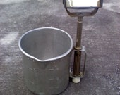 Mirrored Shave Cup