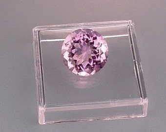11mm round brilliant amethyst gem stone gemstone