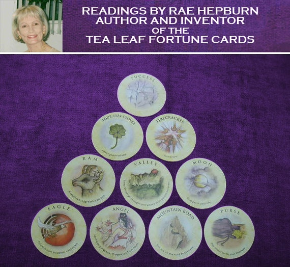 Success Fortune Card Reading using Tea Leaf Fortune Cards 10-Card Astral House Success Pyramid Reading