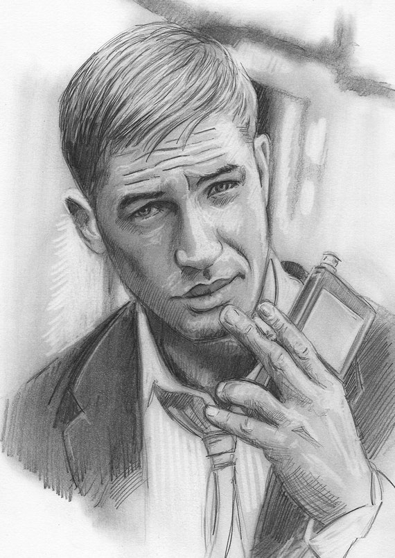 Tom Hardy original sketch