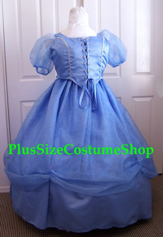 items similar to cinderella blue fairy godmother plus size