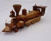 1/24  scale model of the  1863 Thatcher Perkins Locomotive