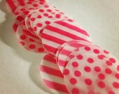 Pink Vellum Embellishments