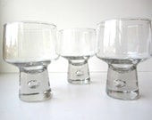 Reserve for Nao- Vintage Danish Modern Barware With Controlled Bubble
