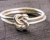 Sterling Silver Love Knot