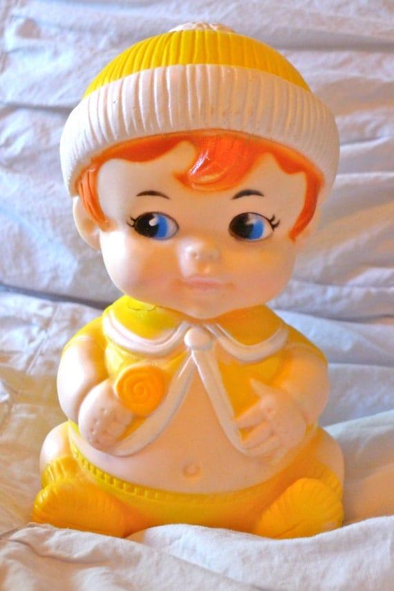 Vintage Baby Squeaker Doll