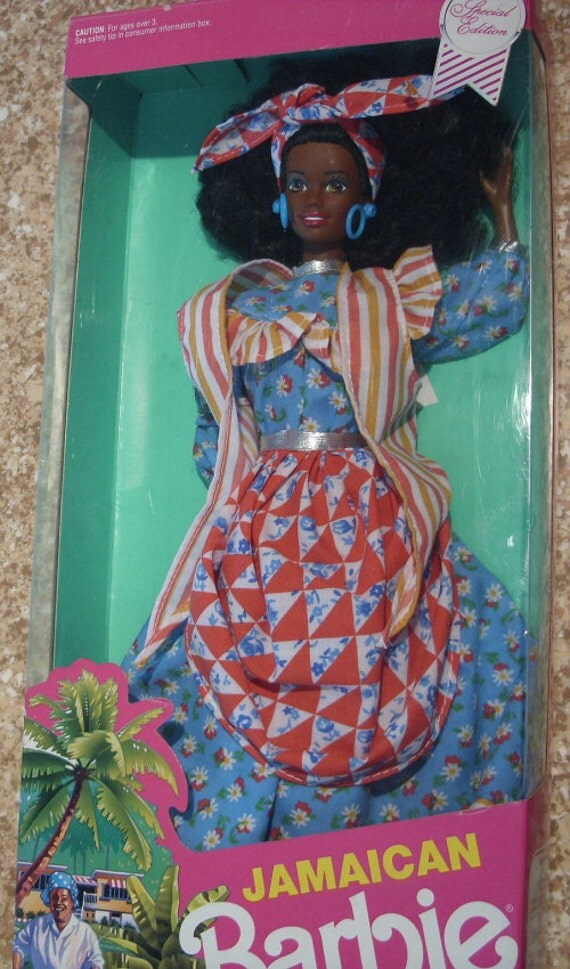 Jamaican Barbie Doll of the World, MIB 1991