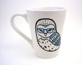 Bespectacled Barn Owl Mug