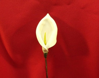 Sculpted Leather Calla lily
