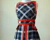 Charming Mod Early 60s Peplum Dress XS/S