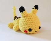 Mini Pokemon Chibi Pikachu Amigurumi Made to Order