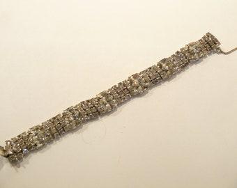 Gorgeous Vintage Rhinestone Bracelet