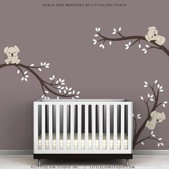 Kids Wall Decals Modern Cute Baby Room Tree Wall Sticker