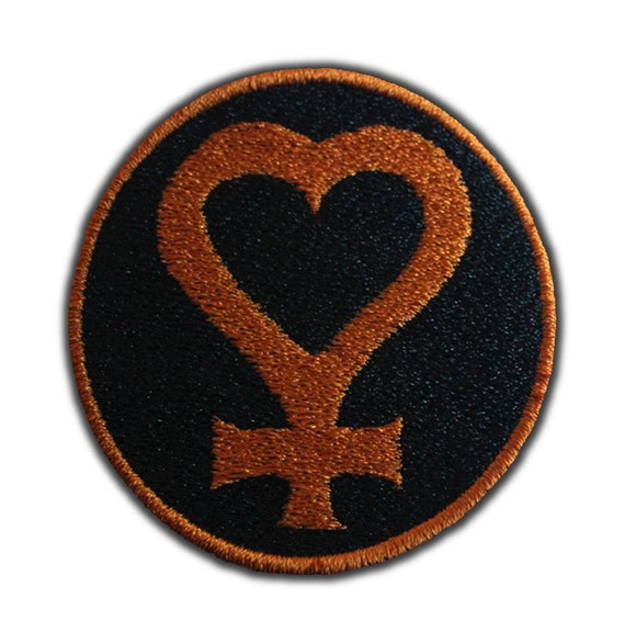 Sailor Venus Symbol Patch by AffrayPatchworks on Etsy