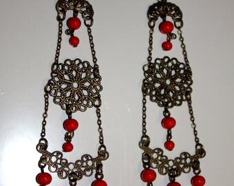 """Chandelier Earrings 4"""""""