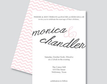 Printable Invitation - Monica