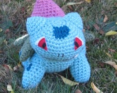 Ivysaur pokemon  Doll Plush Amigurumi