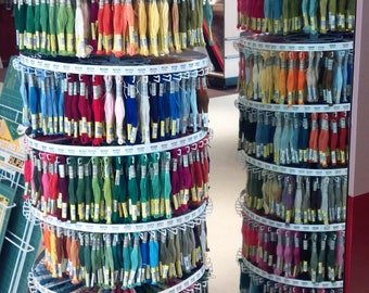10 Cotton Embroidery Skeins for 1 Money of Sullivan's Cotton Embroidery Floss, Egyptian Cotton, MOST COLORS, Great for Needlework Crafts