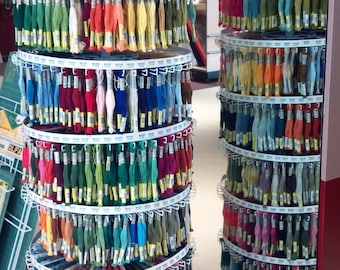 SALE! 10 Cotton Embroidery Thread Skeins for 1 Money of Sullivan's Cotton Embroidery Floss, Egyptian Cotton, MOST COLORS, Needlework Crafts
