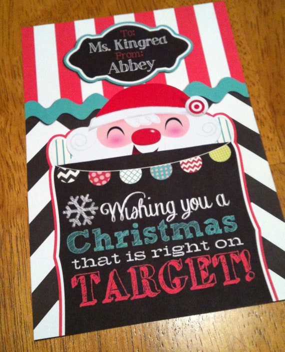 Items Similar To Customized Target Gift Card Holder