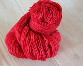 Summer Strawberries Merino Nylon 2-Ply Sock Yarn - Moon Stone Farm