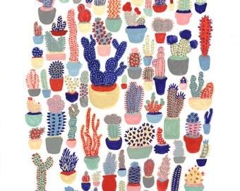 Cactus Club Print