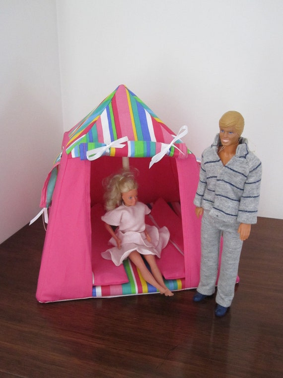 Doll's Tent and two sleeping bags.