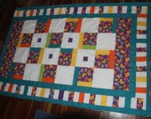 Girls quilt single bed