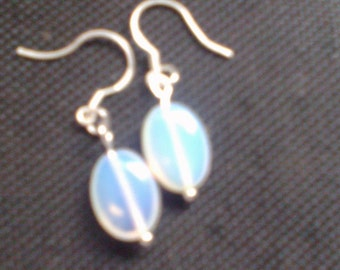 Hand Made Moon stone Earings